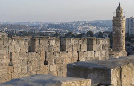 פינות וסודות במגדל דוד