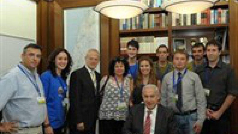ראש הממשלה נפגש עם מסע ישראלי