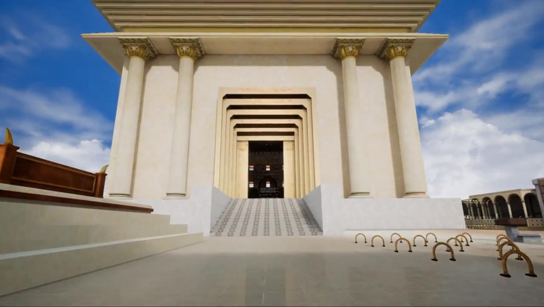 רות קלדרון על בית המקדש