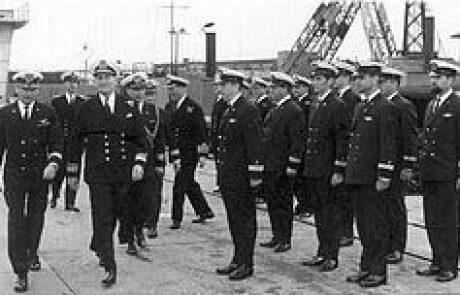 תעוד צוות הצוללת דקר בשבוע הראשון של ההפלגה ארצה ינואר 1968.