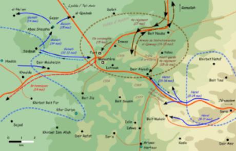 מוגן: לטרון וסיפור הקרב על הדרך לירושלים- שאלות לדיון