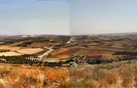 מפת שפלת יהודה
