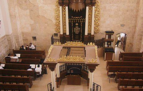 הקמת בתי כנסת כתחליף למקדש