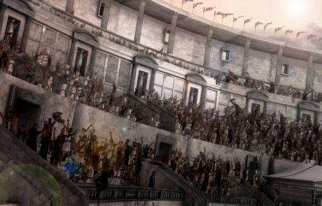 קרבות ראווה במים באמפיתיאטרון – נאומכיה